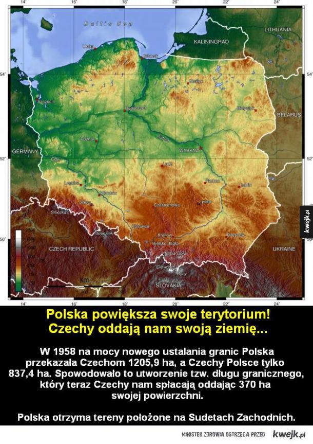Granice Polski się powiększą!