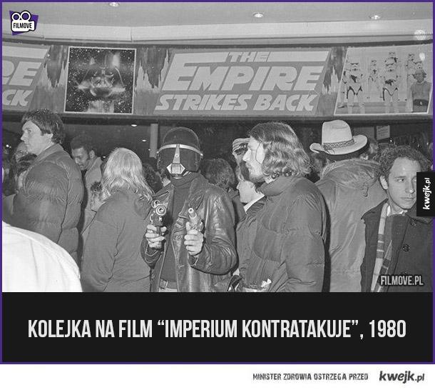 Kolejka na film Imperium Kontratakuje