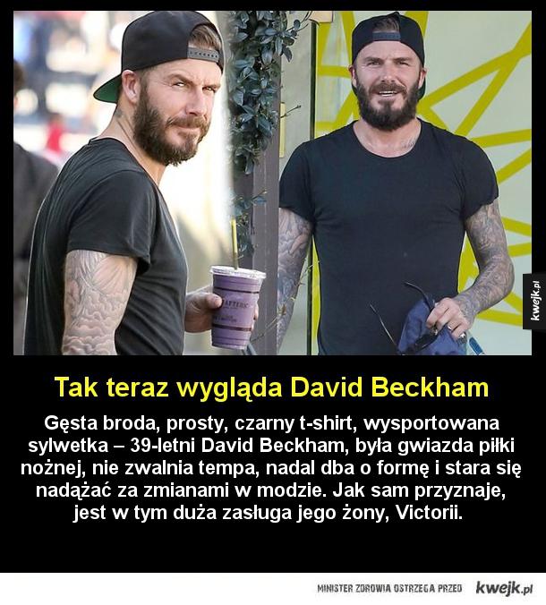 Nowy wygląd Davida Beckhama