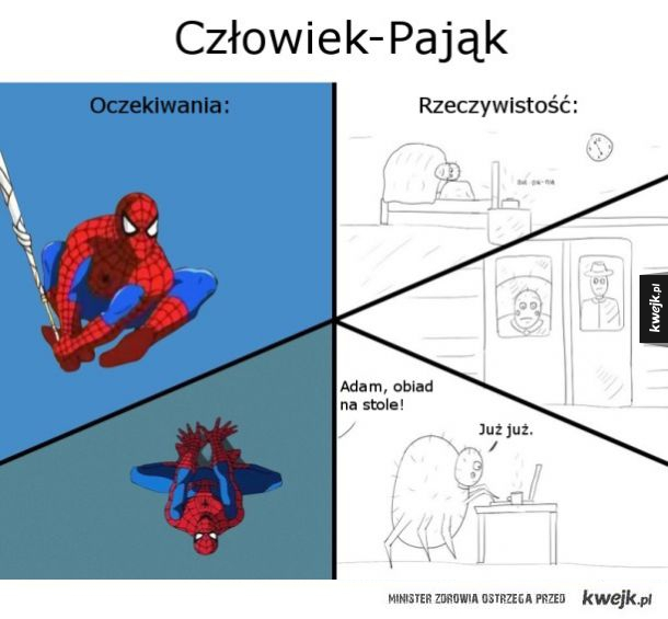 człowiek pajak