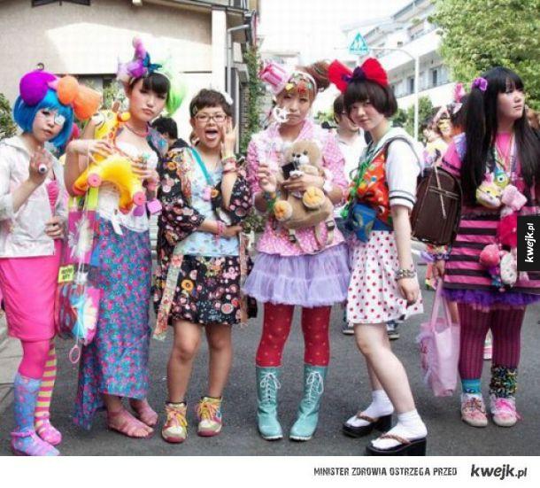 Japońska moda idź do domu jesteś pijana