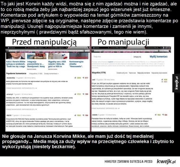 Manipulacja medialna