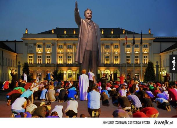 Już niedługo pod Pałacem Prezydenckim...