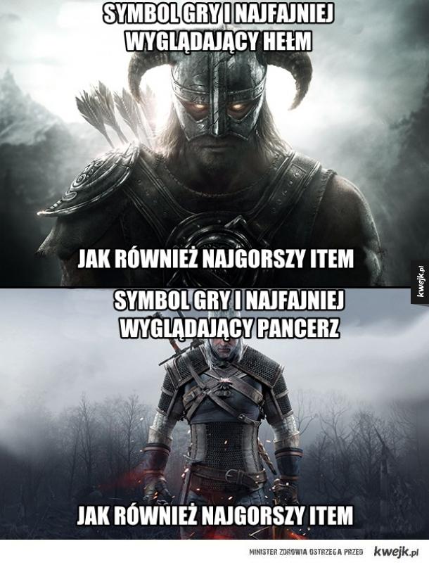 Skyrim vs Wiedźmin