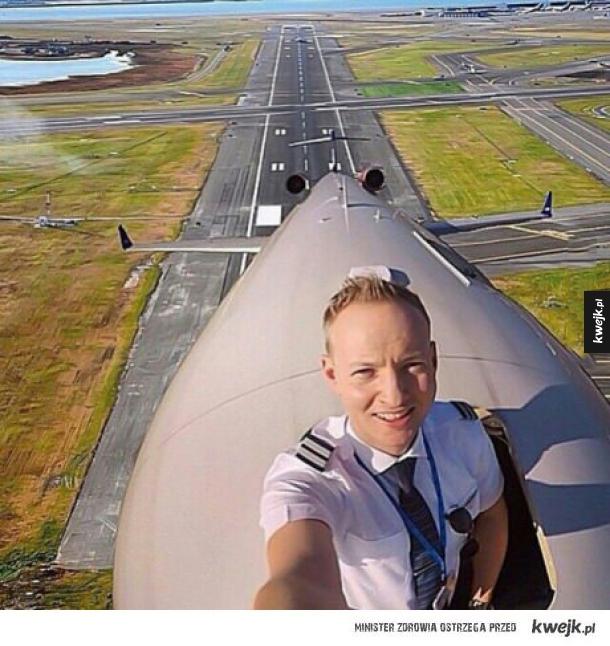 Selfie pilota