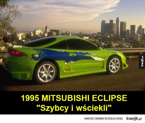 Najlepsze samochody Paula Walkera z serii filmów Szybcy i wściekli - 1995 MITSUBISHI ECLIPSE