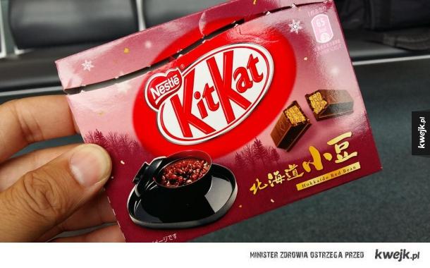 Kit Kat o smaku czerwonej fasoli