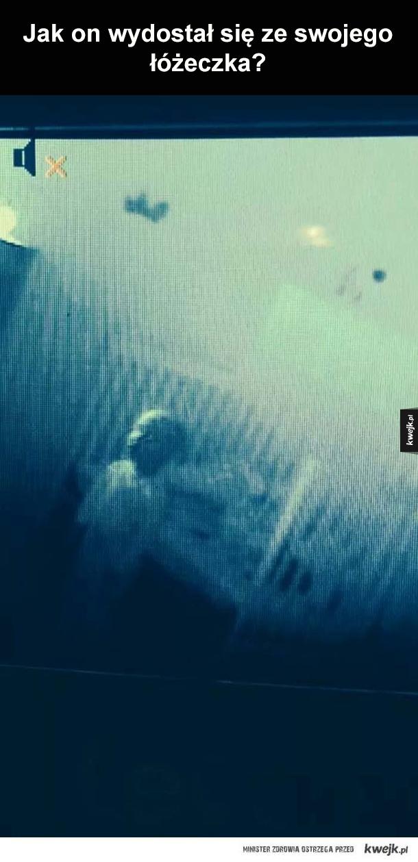 Zdjęcia z baby monitoringu, które wyglądają jak z horroru