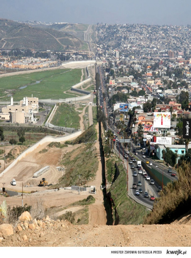 Granica między USA i Meksykiem