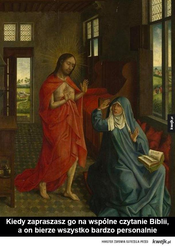 Te momenty, gdy historia wie jak jest - jezus, obraz, historia, maria
