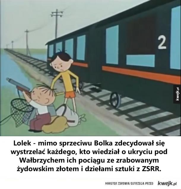 Bolek i Lolek i złoty pociąg