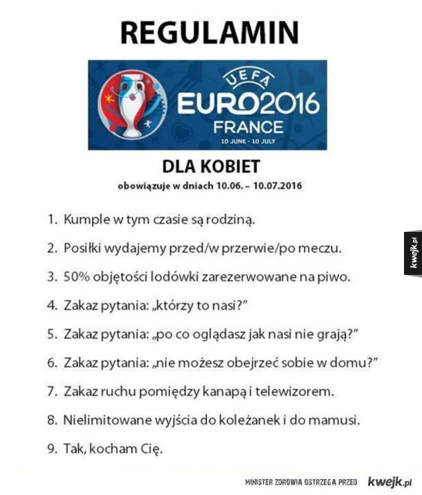 Regulamin z okazji Euro