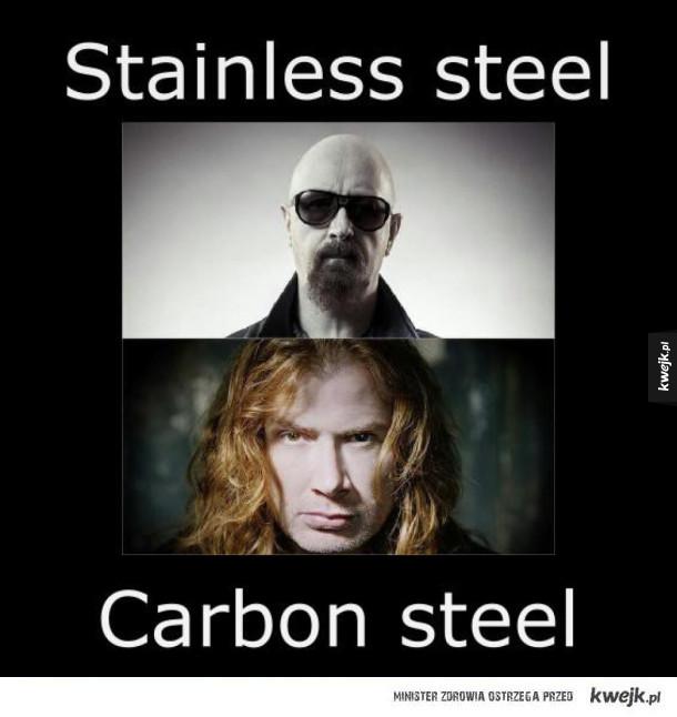 Stainless steel vs Carbon steel
