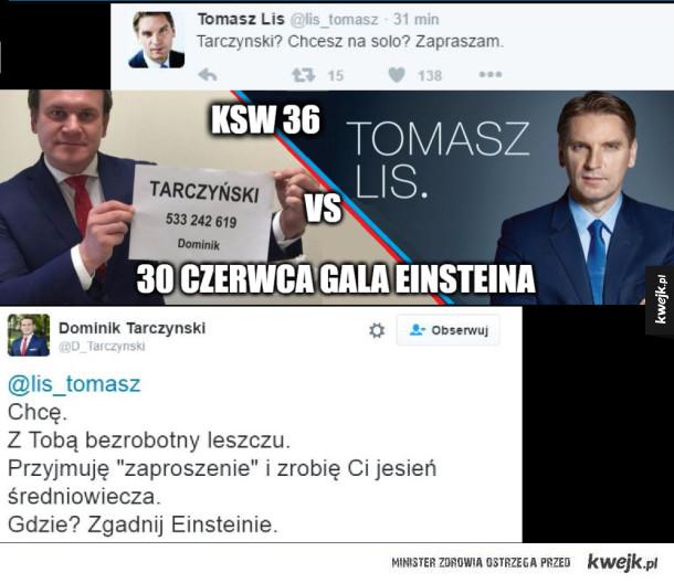 Tarczyński vs Tomasz Lis KSW