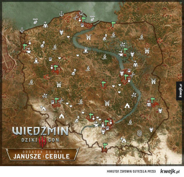 Parody poland map in the witcher 3 style witcher parody poland map in the witcher 3 style gumiabroncs Image collections