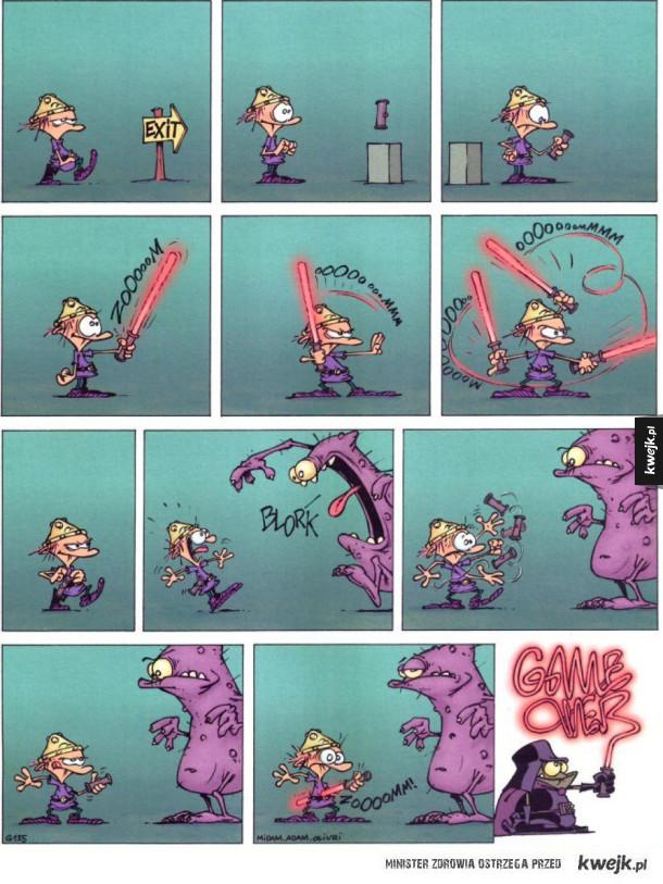 Game Over - seria komiksów o małym barbarzyńcy