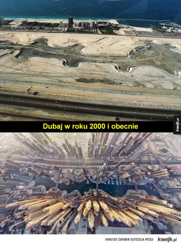 Jak się zmieniały panoramy miast na przestrzeni lat