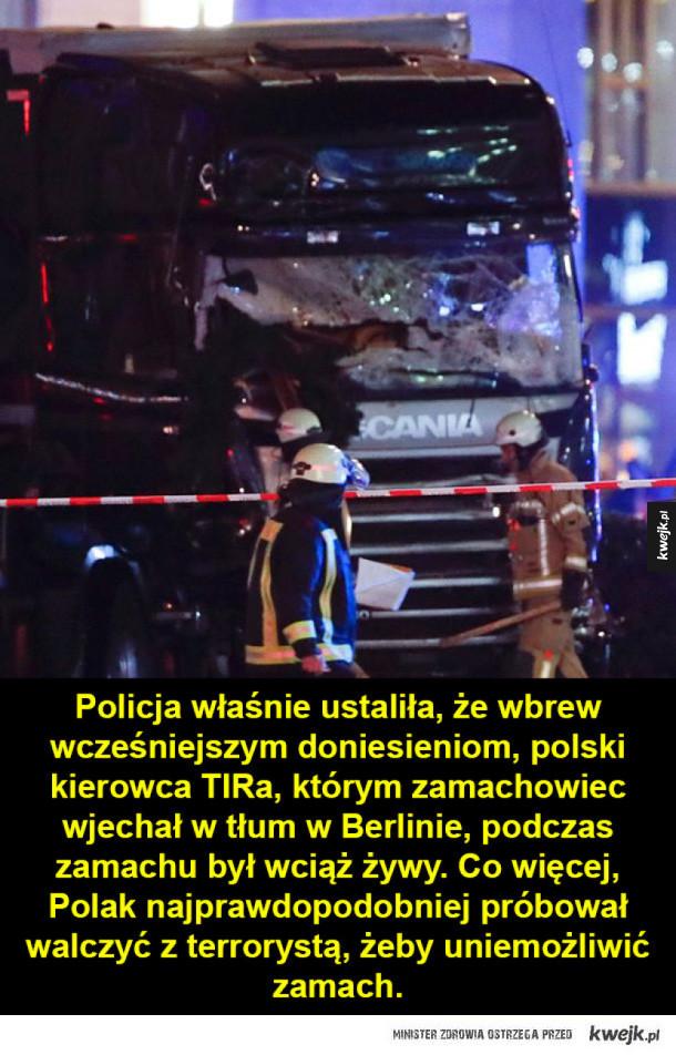 Polski kierowca z Berlina bohaterem?