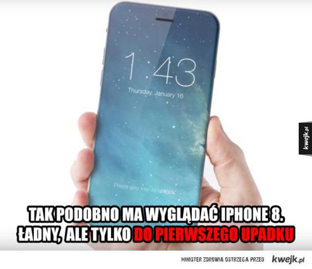Ładny ten iPhone 8, ale...