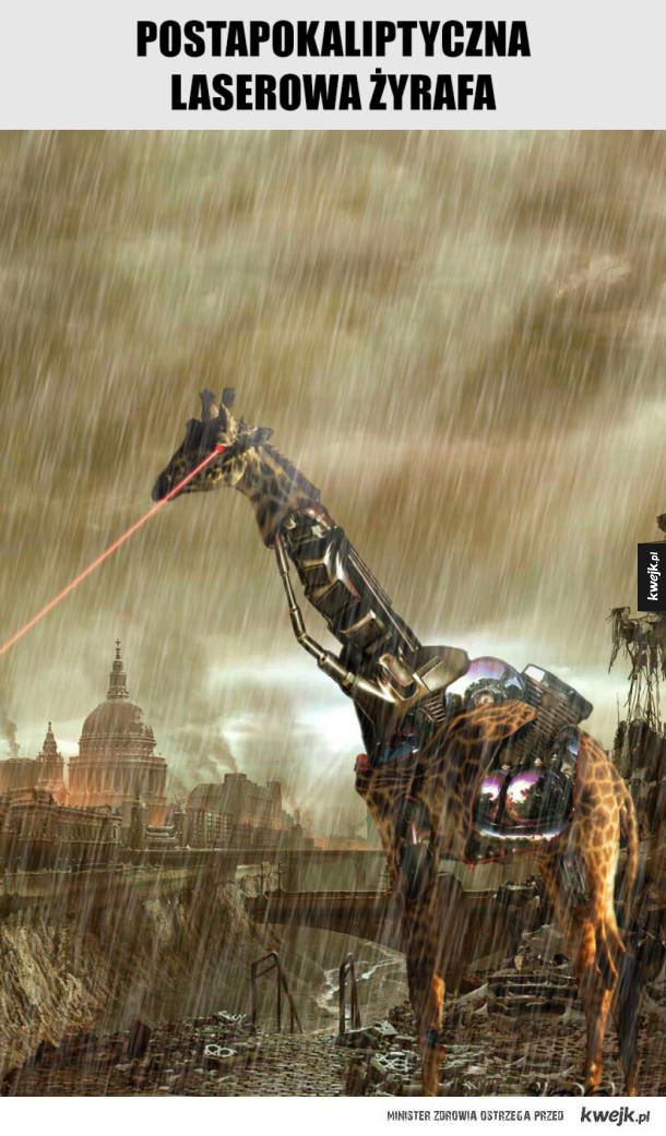 Postapokaliptyczna laserowa żyrafa