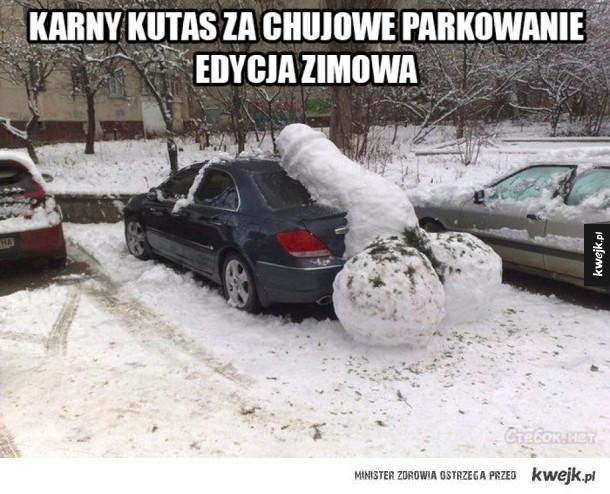 Kara za słabe parkowanie