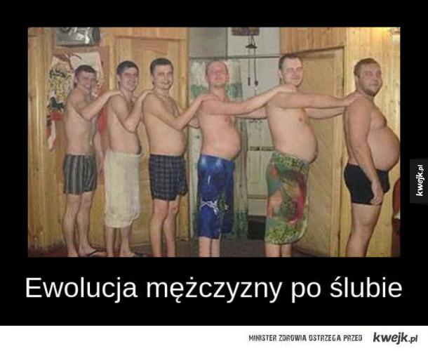 Ewolucja mężczyzn