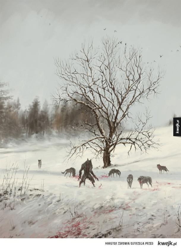 Fantastyczne obrazy Jakuba Rozalskiego