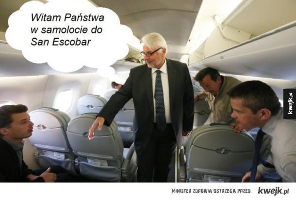 Witold Waszczykowski spotkał się z ministrem San Escobar