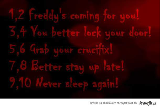 Download image freddy krueger song pc android iphone and ipad