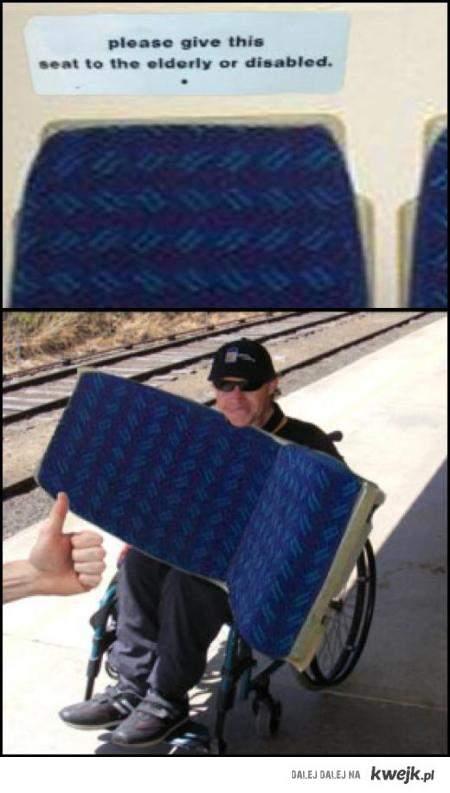 elderly or disabled