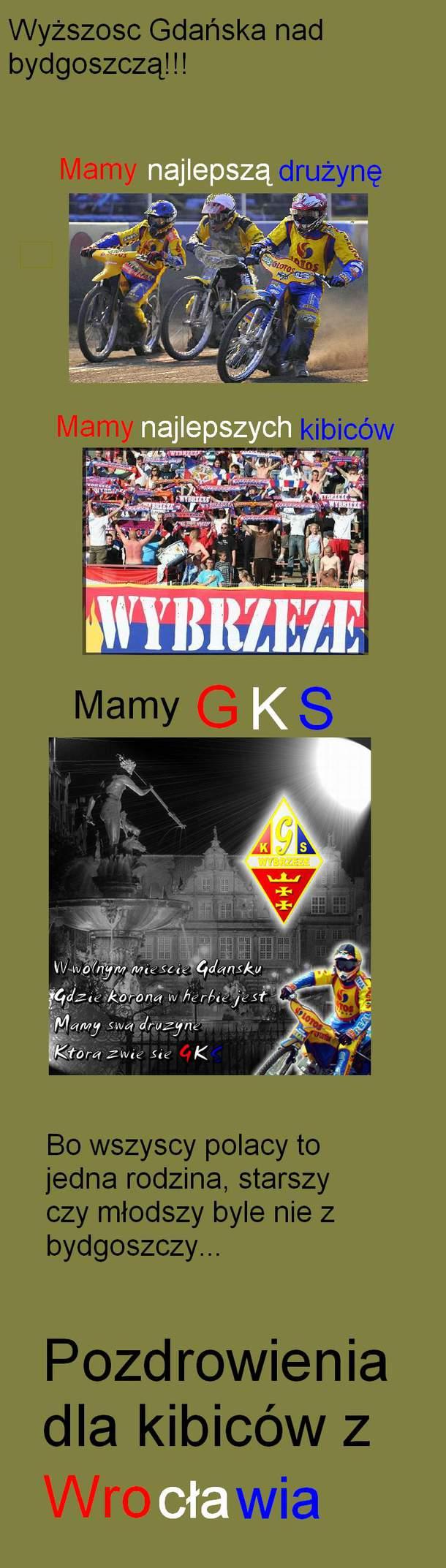 Wyższośc Gdańska nad bydgoszczą