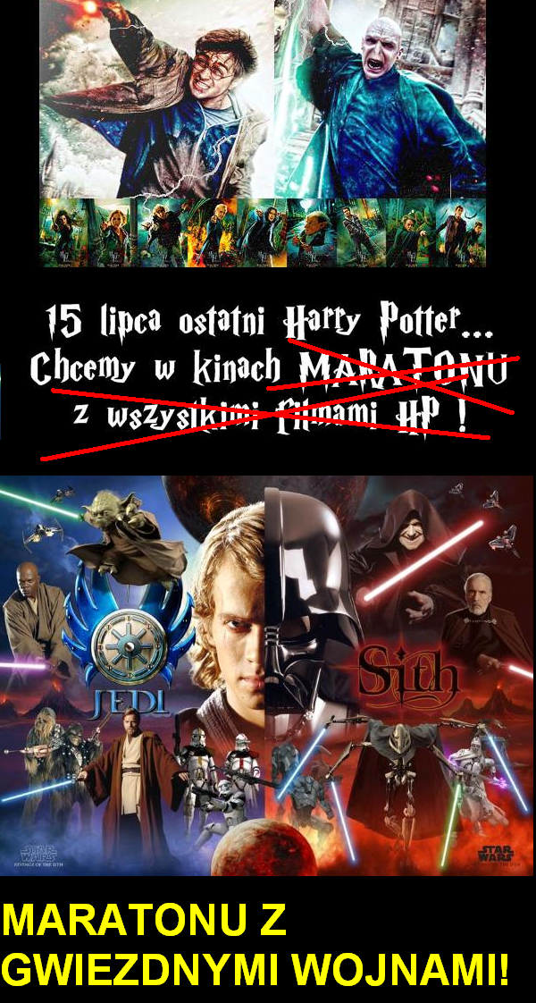 Wolimy Gwiezdne Wojny!
