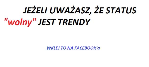 status trendy
