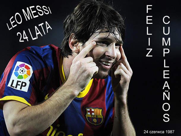 Leo Messi Feliz Cumpleanos
