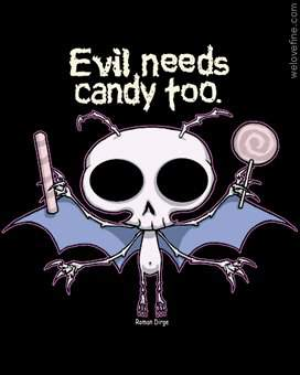 zło potrzebuje ciastek :)
