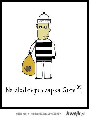 Czapka Gore
