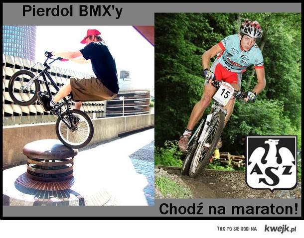 MTB Xc vs. BMX