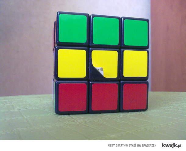 Kostka Rubika - Rasta ; )