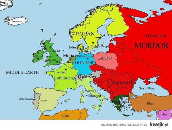 Middle-Earth / Europe
