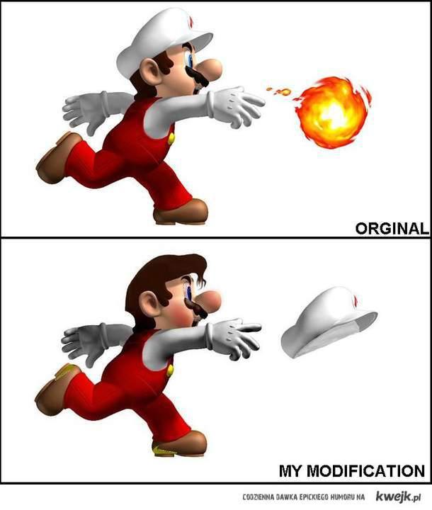 Mario - Modyfikacja by Roots