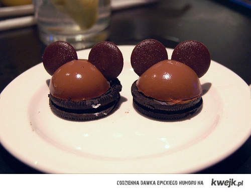 Mickey mouse sweet