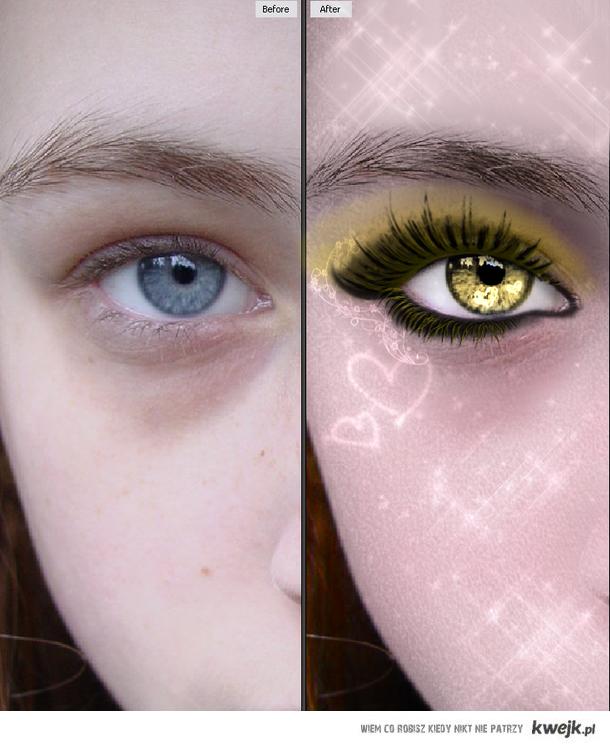Yellow Eye(Sama Robiłam:D)