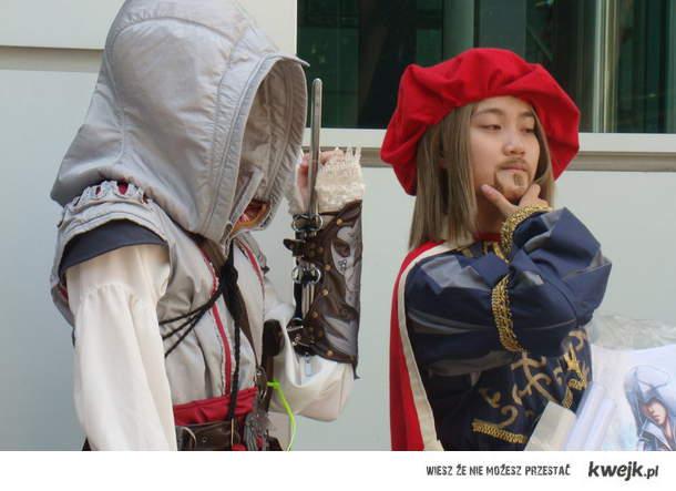 Ezio i Leonardo