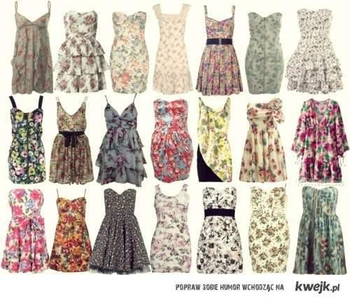 sukienki . ; ))