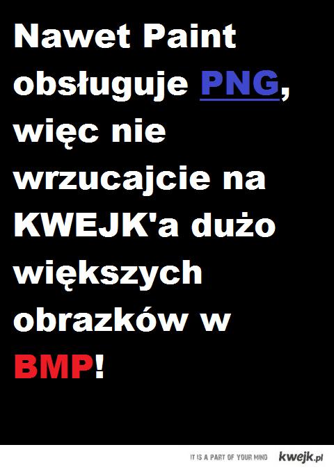 Nie wrzucajcie BMP