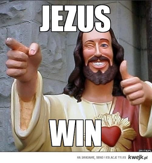 JEzus win
