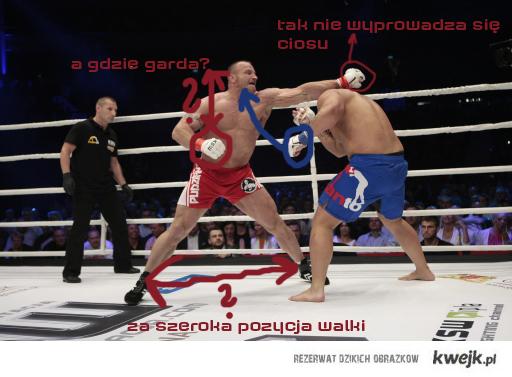Jacek Gmoch komentuje MMA
