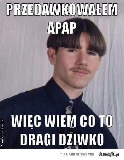 Przedawkowałem APAP