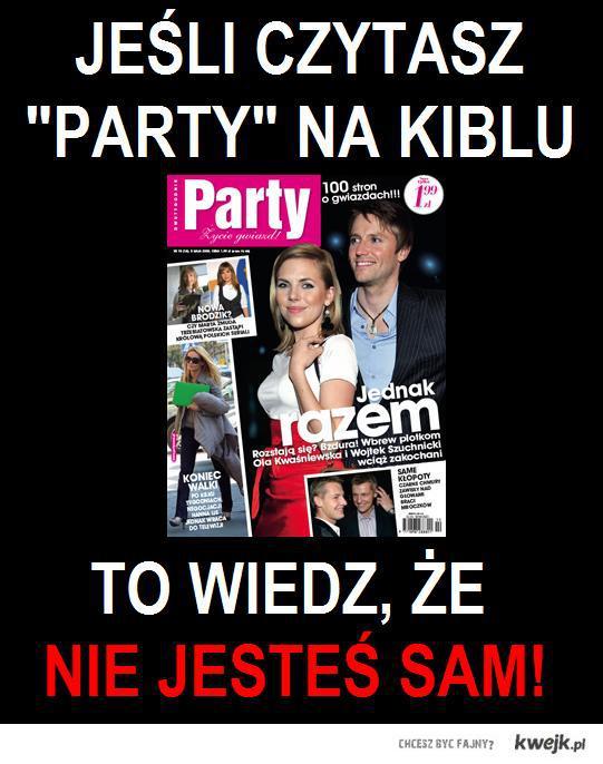 party na kiblu