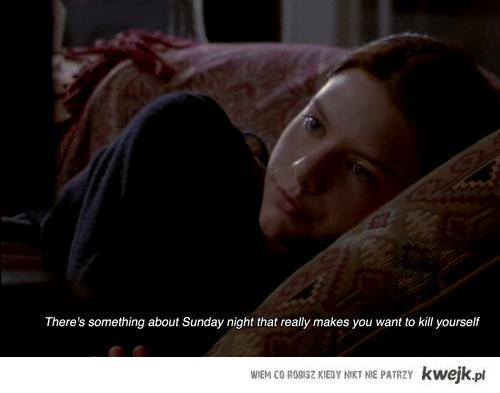 poniedziałek :(